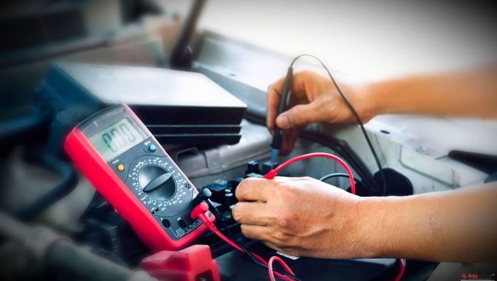Диагностика аккумулятора Тойота в Тюмени