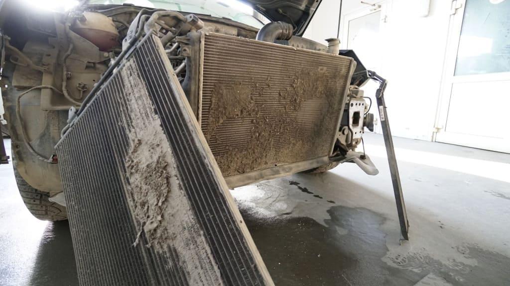 Чистка радиатора Ниссан в Тюмени