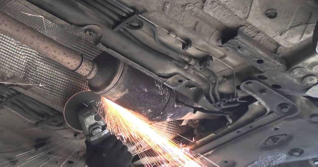 Удаление сажевого фильтра Хонда в Тюмени