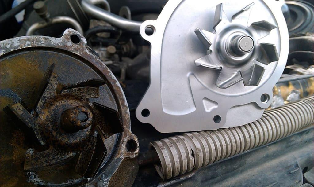 Замена помпы двигателя Лексус в Тюмени